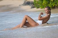 Lady Victoria Hervey in a bikini