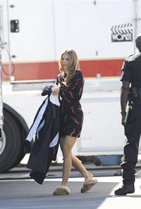 AnnaLynne McCord on the Set of 90210 11/6/12