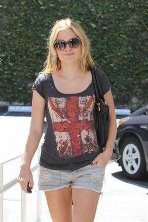 Anna Paquin at Fred Segal in Santa Monica on August 23, 2010