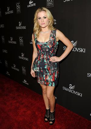 Anna Paquin 12th annual Costume Designers Guild Awards with presenting sponsor Swarovski at the Beverly Hilton Hotel on February 25, 2010
