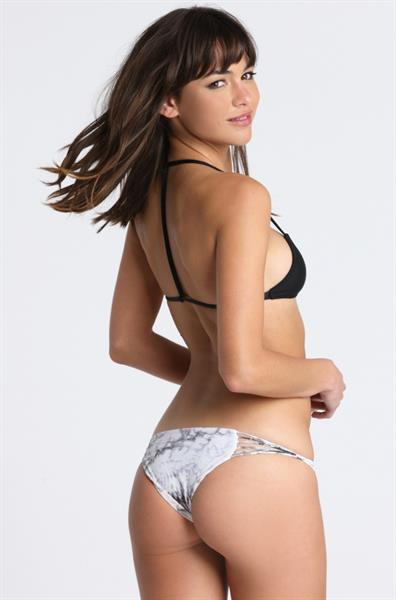 Beatriz Fernandez in a bikini - ass