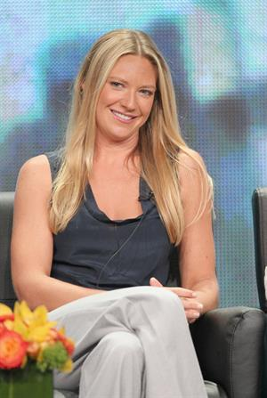 Anna Torv Fringe panel at summer TCA Tour in Beverly Hills on July 23, 2012