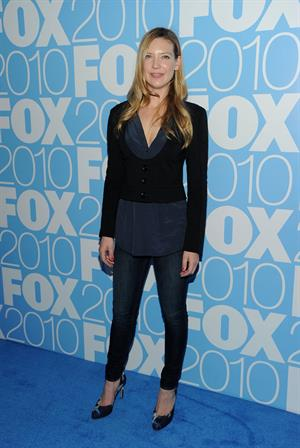 Anna Torv Fox Upfront After Party at Wollman Rink Central Park on May 17, 2010 in New York City