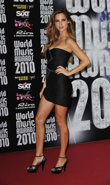 Ariadne Artiles attends the World Music Awards 2010 on May 18, 2010 in Monte Carlo Monaco
