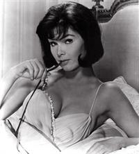 Yvonne Craig in lingerie