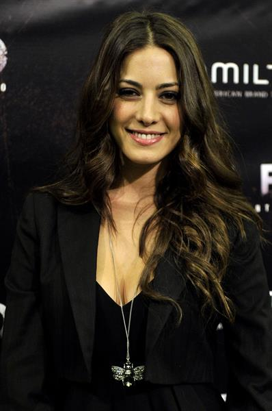 Aroa Gimeno attends the Buried premiere in Madrid on Sept 27, 2010