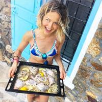 Tess Ward in a bikini