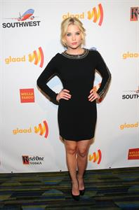 Ashley Benson at the 23rd annual GLAAD Media Awards in San Francisco on June 2, 2012