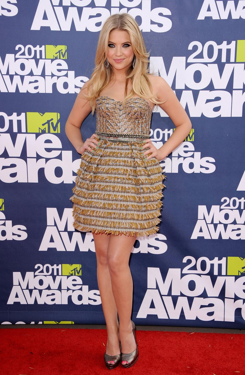 Ashley Benson 2011 MTV Movie Awards in Los Angeles on June 5, 2011