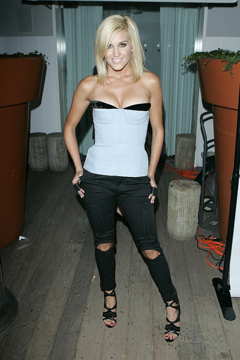 Ashley Roberts Nylon Magazine's TV issue launch party at the Skybar in West Hollywood, California