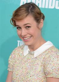 Brie Larson - MTV Movie Awards at Universal Studios, Arrivals - June 3 2012