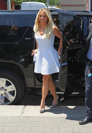 Britney Spears - at X-Factor auditions in Missouri 06/08/12