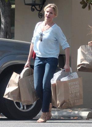 Cameron Diaz - Out shopping in Santa Barbara - June 10, 2012