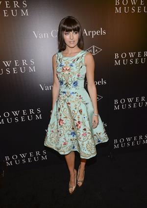 Camilla Belle A Quest for Beauty ehibit in Santa Ana,October 26, 2013