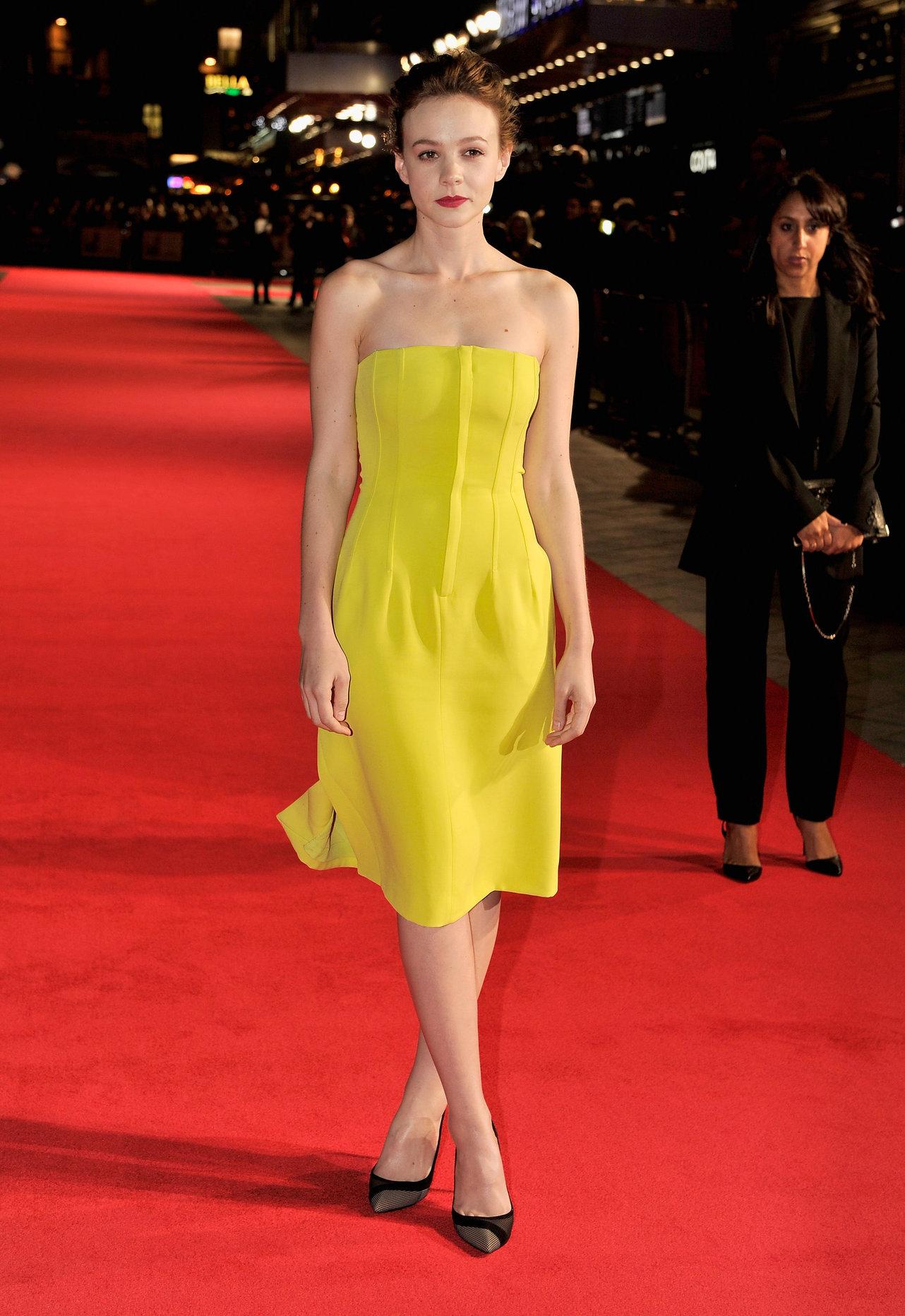 "Carey Mulligan ""Inside Llewyn Davis"" screening at the BFI Film Festival in London, October 15, 2013"