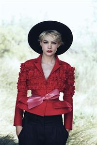 Carey Mulligan - Peter Lindbergh Photoshoot For Vogue