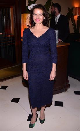 Carla Gugino The Cinema Society with Dior & Vanity Fair Screening of 'Rust and Bone' in New York - Nov 8, 2012