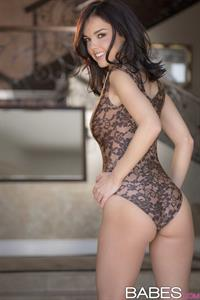 Dillion Harper in lingerie - ass