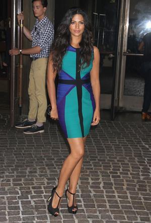 Camilla Alves pregnant in New York