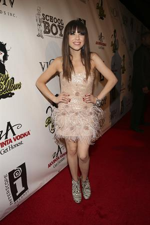 Carly Rae Jepsen Album release Party for her debut record 'Kiss' at Bootsy Bellows in West Hollywood