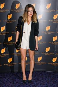 Caroline Flack RTS Awards London on March 20, 2012