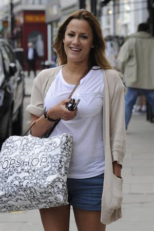Caroline Flack Primrose Hill London 7th Apr 2011