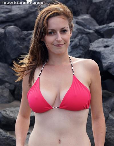 Karly in a bikini