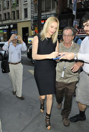 Charlize Theron - Outside  The Today Show  in New York City (May 29, 2012)
