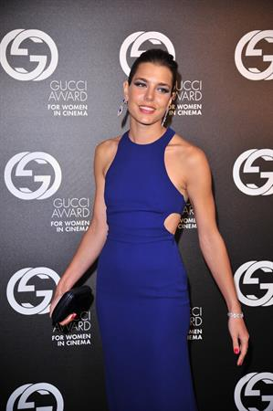 Charlotte Casiraghi - Gucci Award For Women In Cinema At The 69th Venice International Film Festival (Aug 31, 2012)