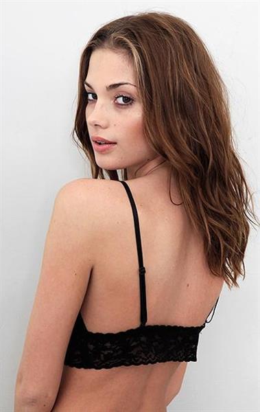 Terra Jo Wallace in lingerie