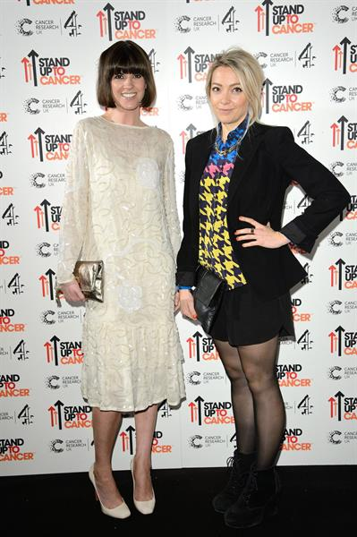 Cherry Healey at Stand up to Cancer Gala on October 18, 2012