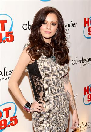 Cher Lloyd Hot 99.5's Jingle Ball 2012 at The Patriot Center in Washington DC 12/11/12