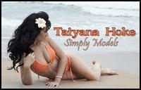 Tatyana Hoke in a bikini