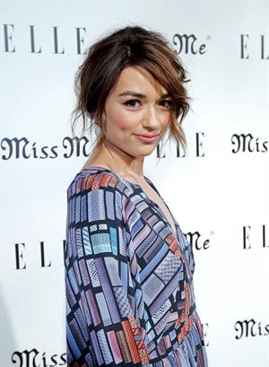 Crystal Reed - ELLE And Miss Me Party, Aug 9, 2012