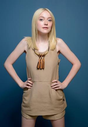 Dakota Fanning- Portraits at TIFF 9/7/13