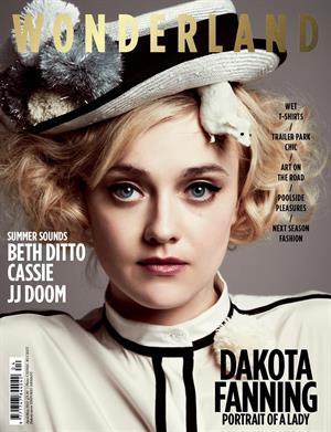 Dakota Fanning Wonderland magazine Apr/May 2012