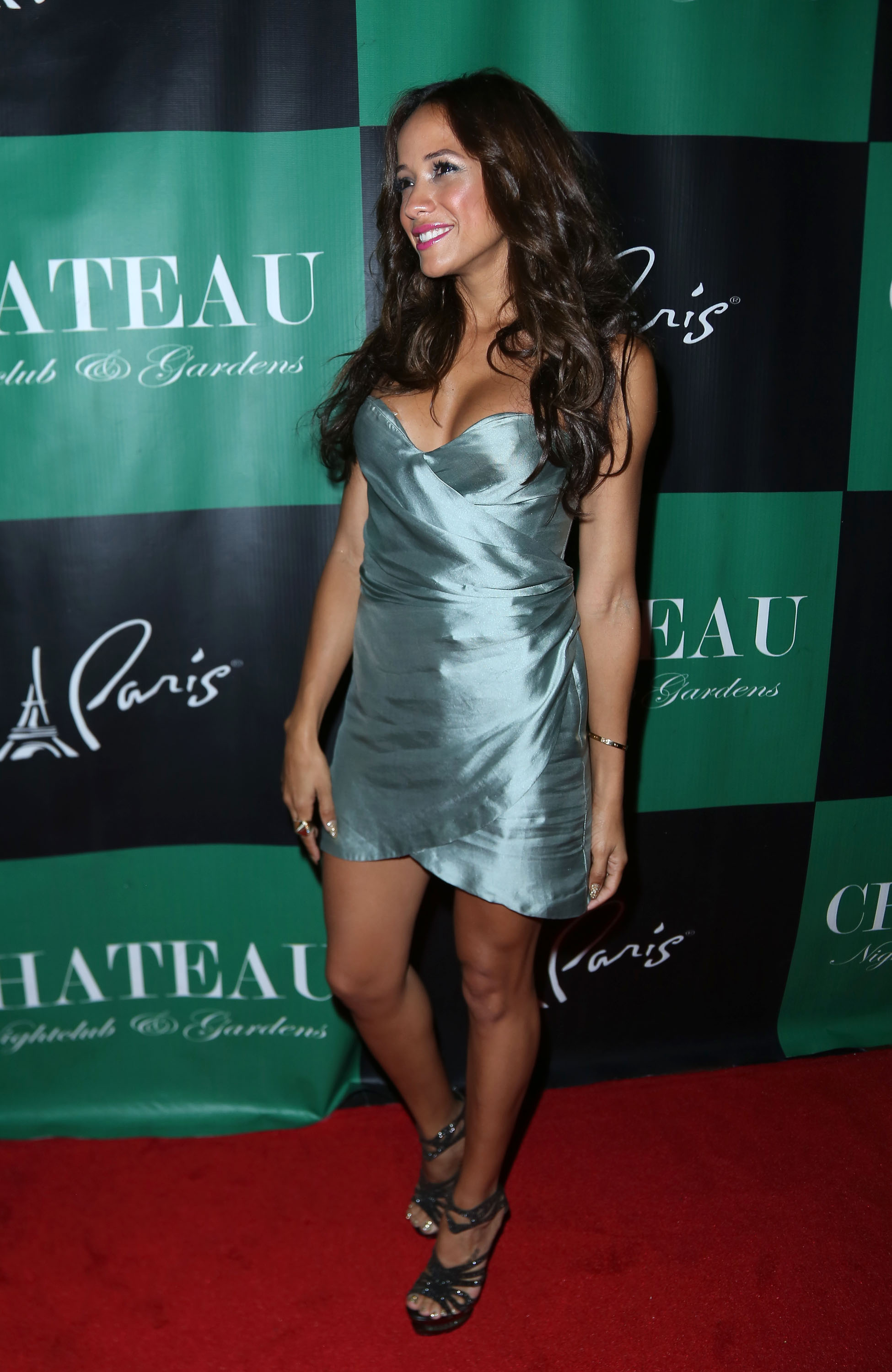 Dania Ramirez - Chateau Nightclub & Gardens at the Paris Las Vegas in Las Vegas on August 8, 2012