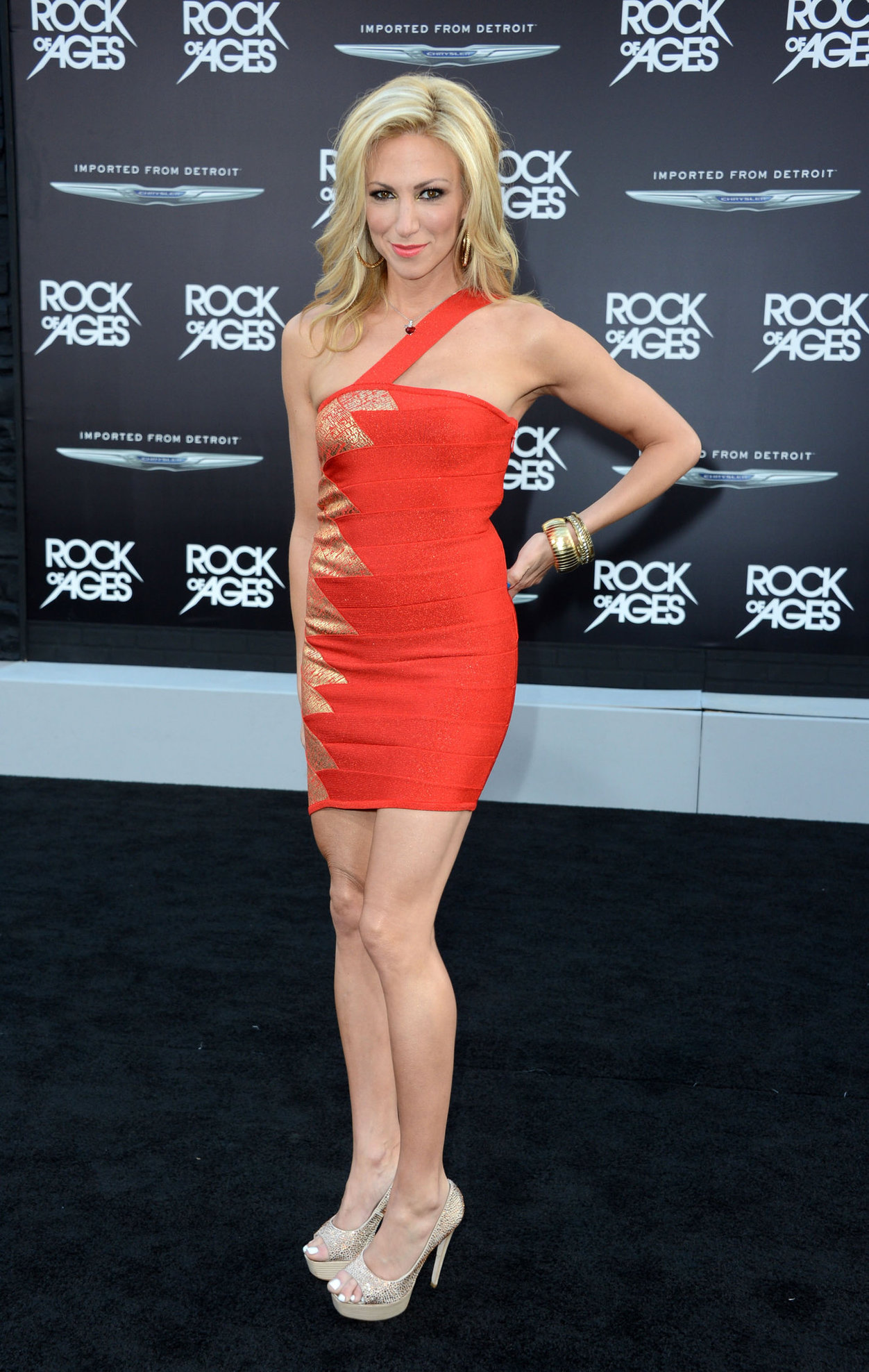 Debbie Gibson - Rock Of Ages premiere in Los Angeles June 8, 2012