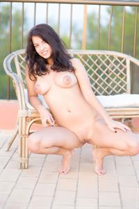 Busty Inez - pussy and nipples