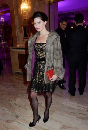 Delphine Chaneac The Bests Awards 2012 Ceremony in Paris (Dec 11, 2012)