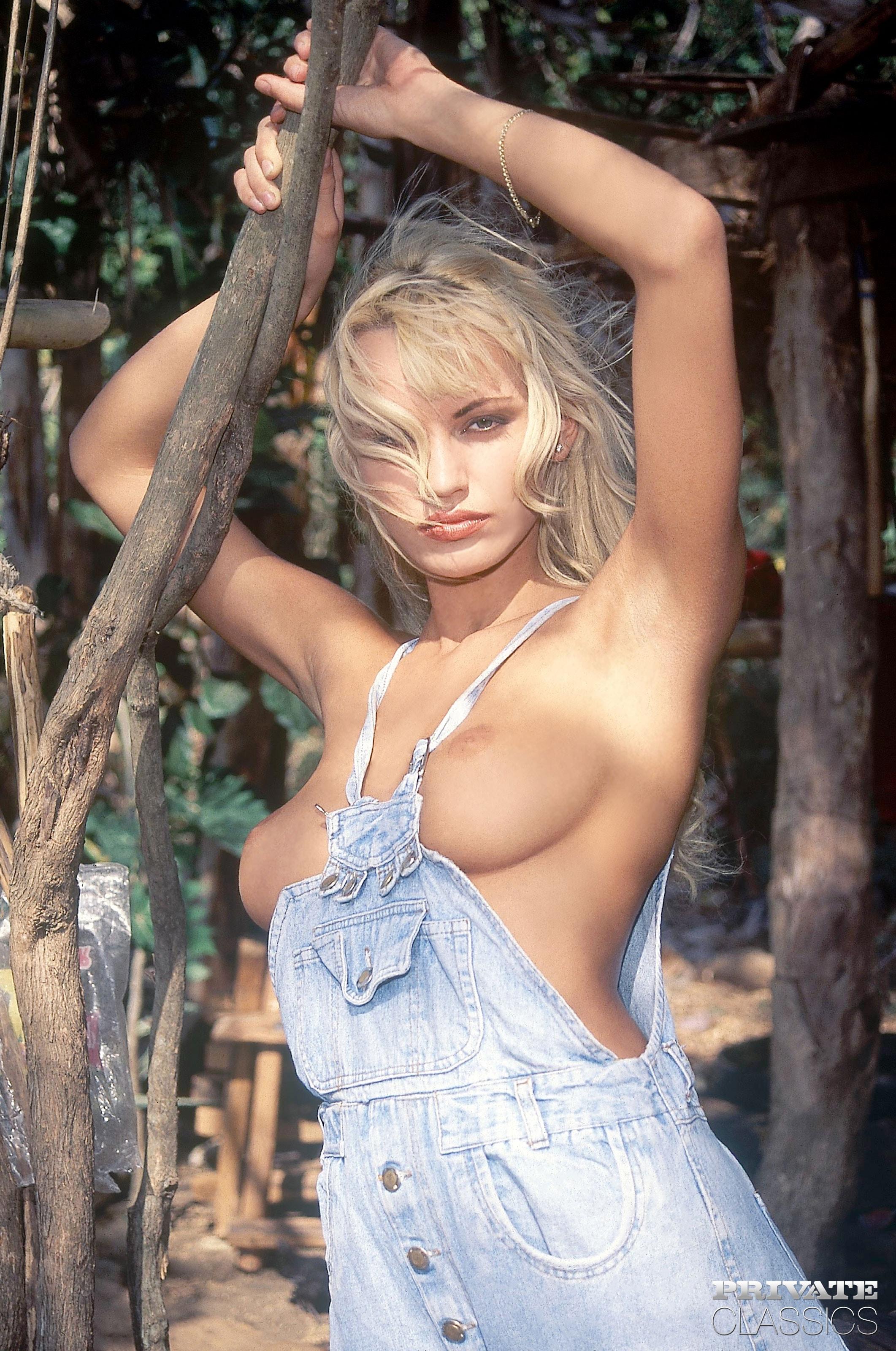 Curious Anita blonde nude Really strange
