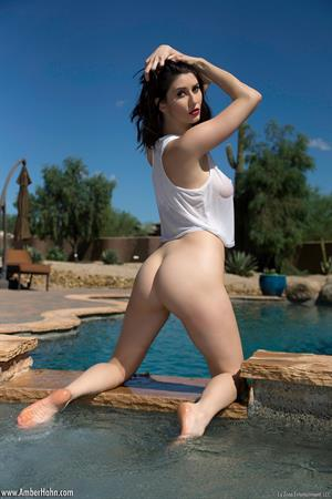 Amber Hahn - Hot Tub
