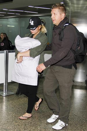Demi Lovato  Rio de Janeiro International Airport 9/28/12