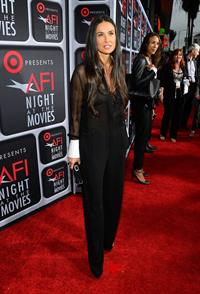 Demi Moore Target Presents AFI's Night at the Movies 4/24/13
