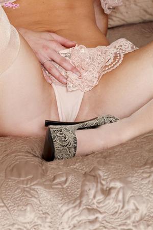 Kayden Kross - stripping off lingerie for Twisty's