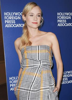Diane Kruger Hollywood Foreign Press Association Luncheon in Beverly Hills on August 13, 2013