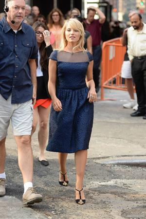 Dianna Agron – Good Morning America in NY 9/12/13
