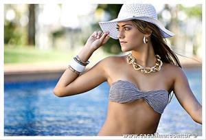 Eduarda Amorim in a bikini