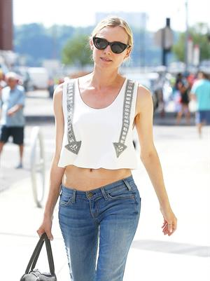 Diane Kruger Out and about in New York on June 15, 2013