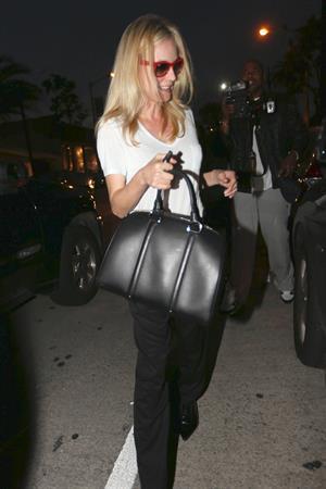 Diane Kruger leaving the salon in Beverly Hills December 5, 2012